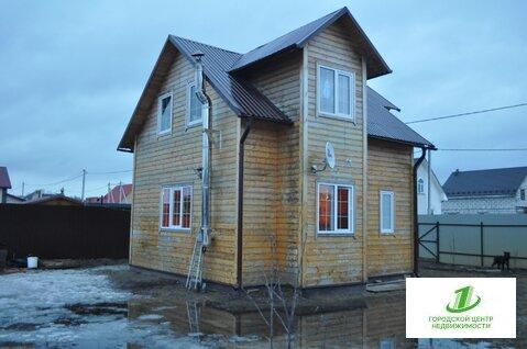 Продам отличный каркасно-щитовой двухэтажный дом