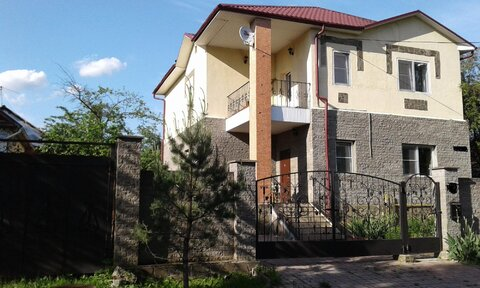 Продаётся Дом 240 м2 на участке 9 соток в г. Домодедово, ул. Овражная