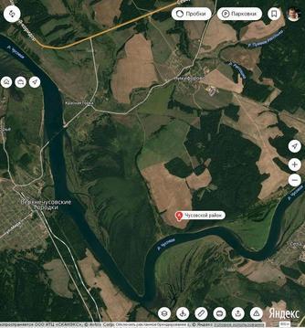 Земельный участок в живописном местечке Пермского края