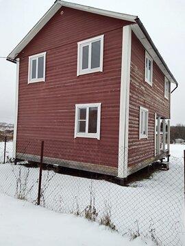 Дом из бруса 79,4 кв.м. на земельном участке 8 соток в г. Ожерелье, .