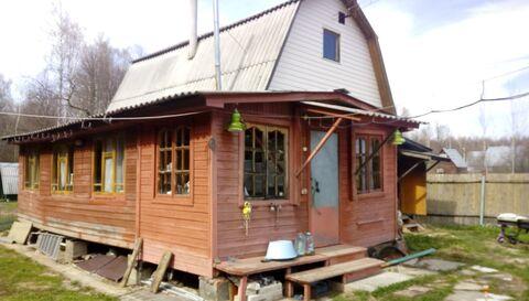 Продаю зимнюю дачу в Ступинском районе, дом из бревна с.Ситне-щелканов