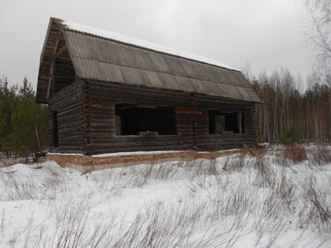 Дом в д.Коренево, Клепиковского района, Рязанской области.