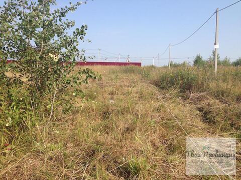 Участок 4 сотки под пмх рядом с Гор. в деревне Ходаево Чеховского р-на