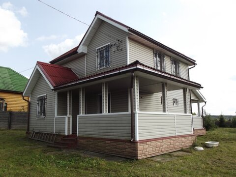 Продаю дом из бруса в деревне Романово