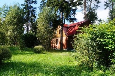 Лесной участок 16 сот, с домом 105 кв.м, Можайское ш, Жаворонки