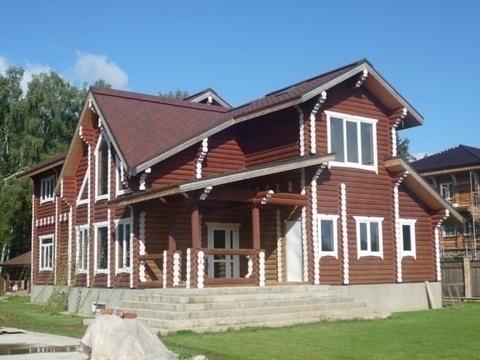 Продается коттедж, примыкающий к лесу, Новорижское шоссе, 25 км от .