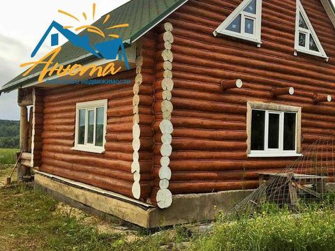 Продается бревенчатый жилой дом в Малоярославецком районе Калужской об