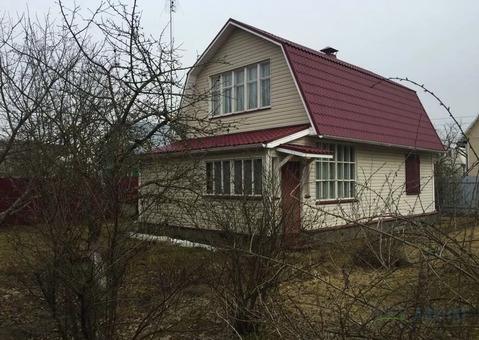 Дом из бруса 100 кв.м. на участке 6 соток в обжитом СНТ. 25 минут .
