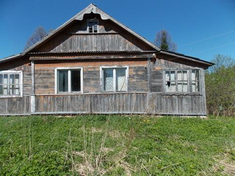 Продам старый дом 40кв.м, д.Пристанино Волоколамский р-он