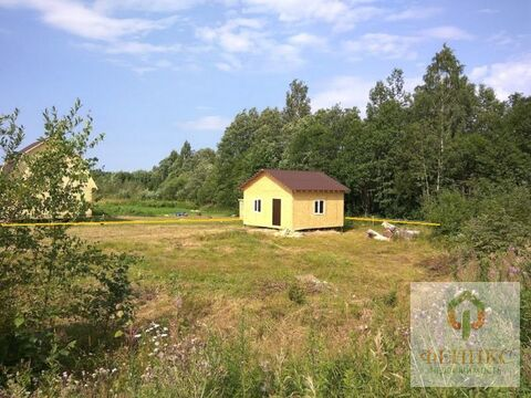 Небольшой одноэтажный домик на участке 12 соток ИЖС в п.Ромашки .