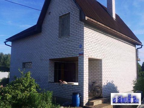 Дом 110 кв.м. на участке 10 соток СНТ в Солнечногорске