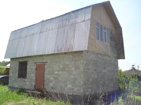 Капитальная блочная дача вблизи реки Ока