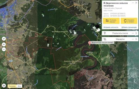 Участки на полуострове реки Сылва , возле дер. Мостовой