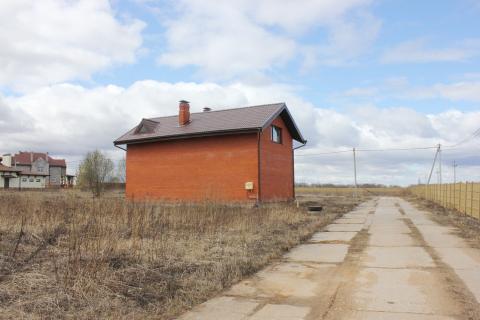 Дом из блоков обложен кирпичом, 120 кв.м. д. Пересветово.