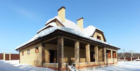 Дом 260м2 в экологически чистом районе на 20 сотках бчо д. Тростье