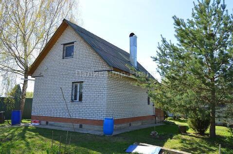 Кирпичный дом в жилой деревне на участке 15 соток. Боровск. 90 км от М