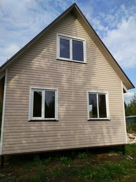 Продам участок с хоршим новым зимним домом.