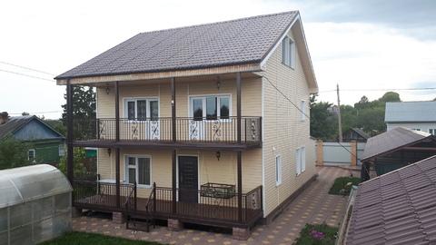 Жилой дом 200 кв.м. на участке 9 сот. в п. Малино, Ступинского района