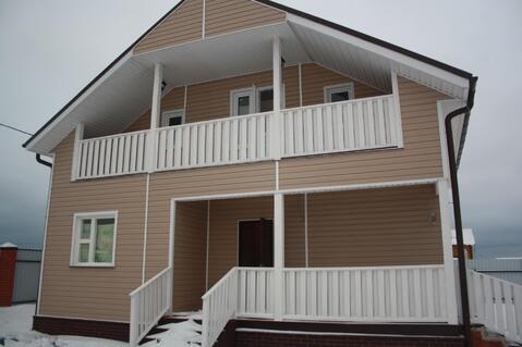 Новый дом в д.Аленино 65 км от МКАД