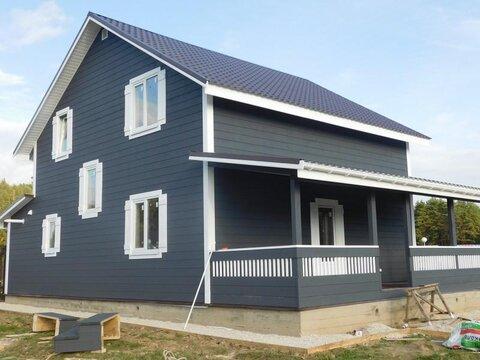 Загородный дом на 12 сотках со всеми удобствами Газ. г.Боровск. 80км