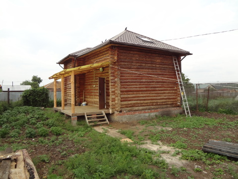 Дом 108 м2 на участке 5.2 сот. село Варламово, Чебаркульский район