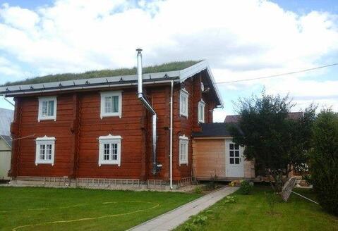 2х этажный дом из лафетного бруса 200 кв.м. по норвежской технологии