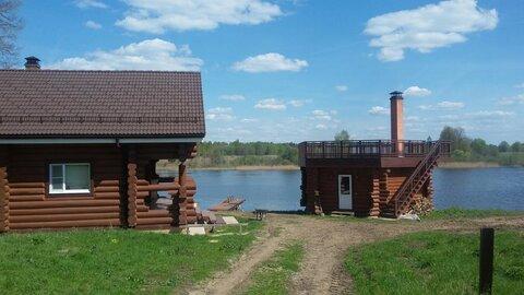 Со своим берегом на реке Малая Пудица, загородный комплекс