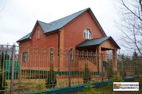 Продается благоустроенный коттедж на Рузском водохранилище