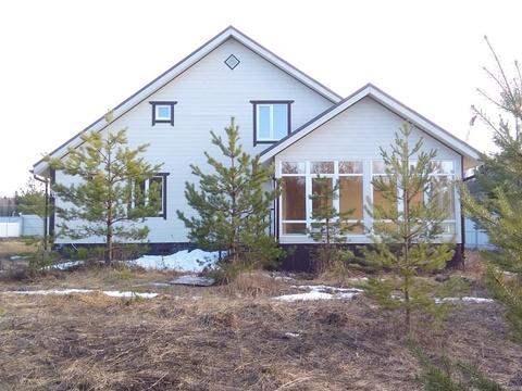 Новый дом из бруса, д. Маренкино, 80 км от МКАД