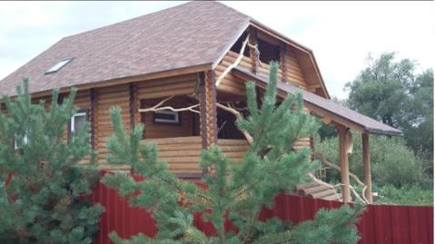 Сдается 2-х этажный деревяный дом 220 кв.м. д. Шилово, Боровский район