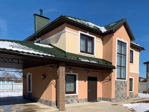 Новый дом в охраняемом коттеджном поселке