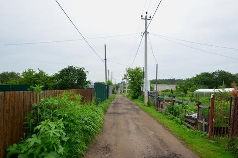 Продам участок в поселке Подосинки