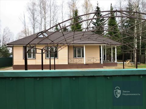 Новый жилой дом 140 кв.м, 10 соток. Газ. Транспортная доступность.