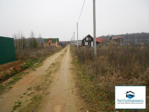 Участок рядом с лесом и не далеко от города Можайск