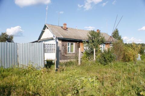 Половина дома в д. Татьянино Александровского района