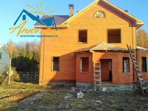 Большой новый капитальный каменный дом в деревне Борисково 6 км. От Но