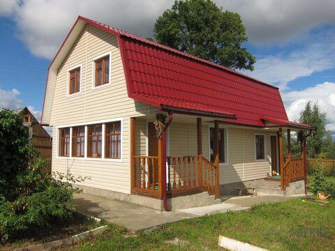 Теплый дачный дом 100 кв.м. (сруб), 12 соток, эл-во , вода. СНТ. 700 .