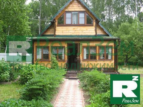 Дом 101 м2 (брус) на участке 16 сот в Боровском районе СНТ Березка