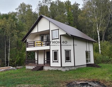 Шикарный 2-х этажный дом с выходом в лес