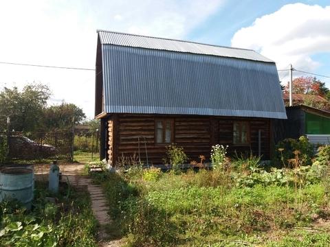 Продается двухэтажная бревенчатая дача в СНТ