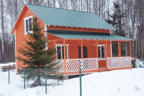 Красивая и качественная деревянная дача.