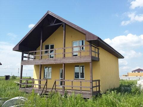 Продается новый блочный дом 174м2 на участке 10,4сот, село Малышево
