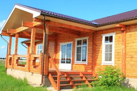 Новый красивый котедж в жилой деревне, 66 км отмкад