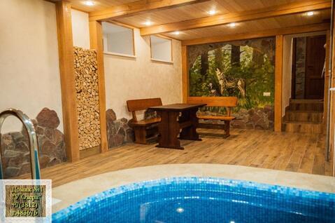 Домик с сауной, бассейном на сутки. vip отдых в Омске