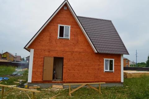 Продам 2-х этажный новый дом в селе Речицы по ул. Садовая.