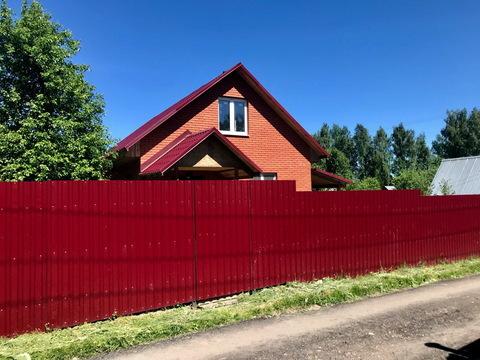 Кирпичный дом 90 кв.м. на участке 6 сот в 1 км от гор. Руза