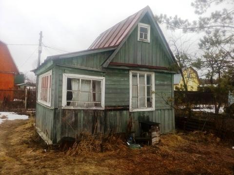Дом 20 кв.м, Участок 6 сот. , Горьковское ш, 37 км. от МКАД.