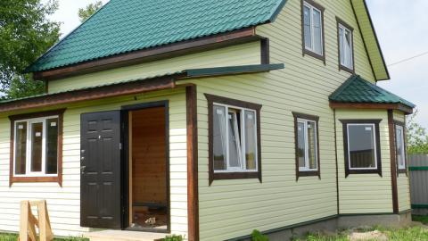 Дом в деревне недалеко от Обнинска