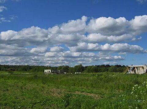 Шикарный участок 10 соток в обжитой деревне. Красивый вид на поле и .