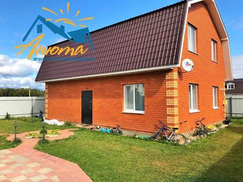 Кирпичный дом 140 кв.м. на 5 сотках в Кабицыно с коммуникациями